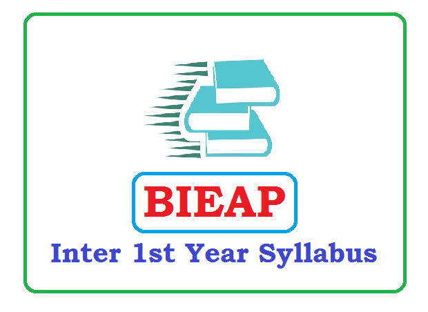 AP Inter 1st Year Syllabus 2020 Pdf Download