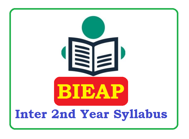 AP Inter 2nd Year Syllabus 2020 Pdf Download