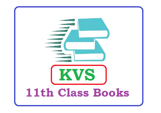 KVS 11th Class Books 2021 (*All Subject) Pdf Download
