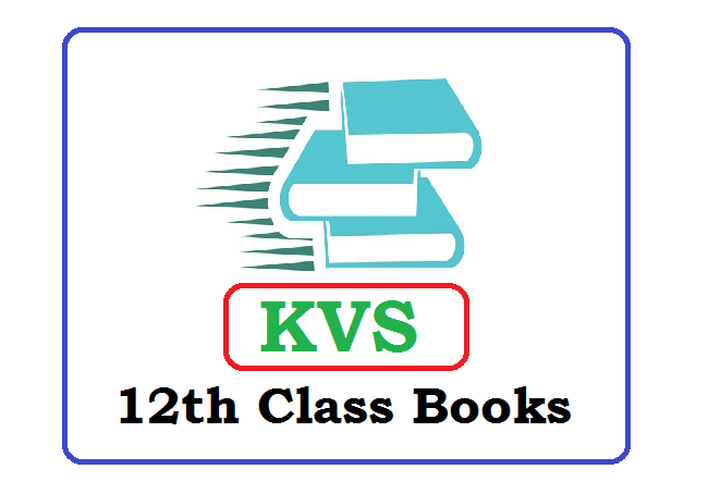 KVS 12th Class Books 2020 (*All Subject) Pdf Download