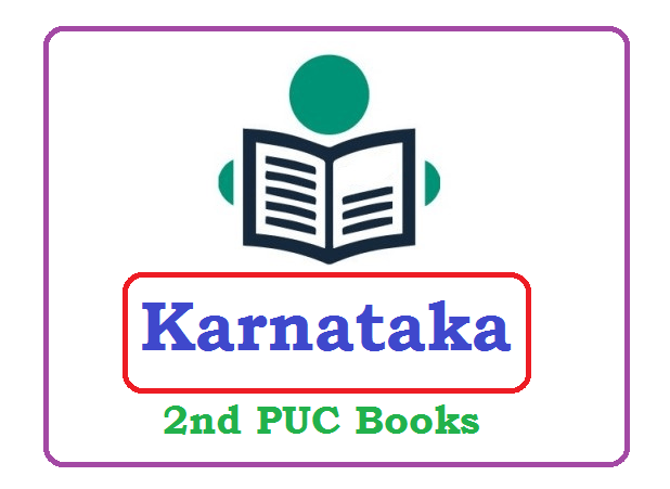 Kar II PUC Textbooks 2020, Karnataka PUC Books 2020